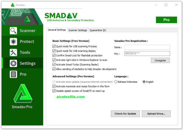 Smadav Pro 13.5 With Serial Key 2020 Free download (Latest Update)