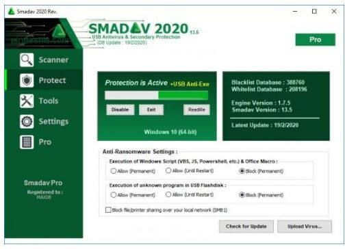 smadav-pro-crack + serial Key Free download