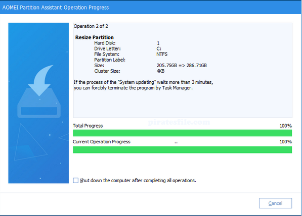 AOMEI Partition Assistant Pro 8.7 Crack + Key Free Download