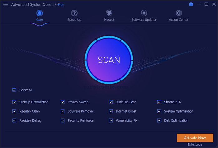 Advanced SystemCare Pro Crack 13.4.0.245 + License Key Download 2020