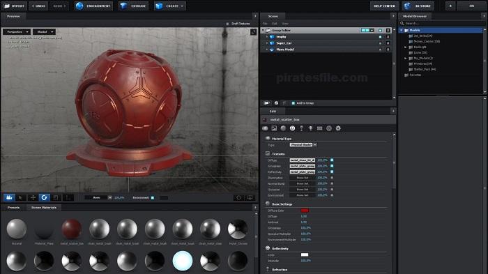 Element 3D v2.2.2.2168 Crack + Torrent Free Download 2020