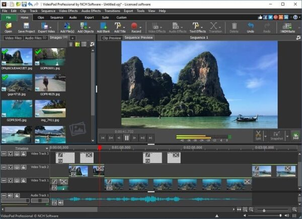 NCH VideoPad Video Editor Crack + Registration Code Free Download