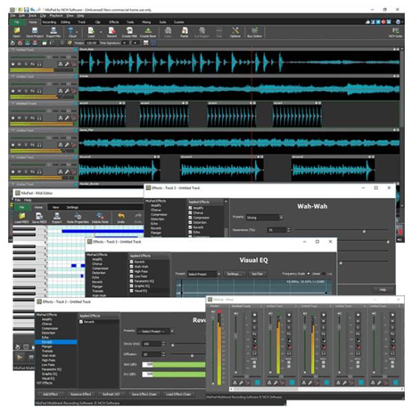 MixPad master editer